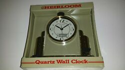 HEIRLOOM Quartz Wall Clock - Movement made in Japan (FACTORY SEALED)