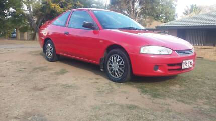 02 Mitsubishi Lancer 5sp Coupe 1.8 - Rego RWC Low Ks Exceptional Redbank Plains Ipswich City Preview
