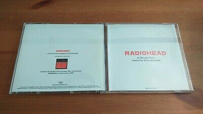 Radiohead at Ground Zero CD Hosted by Chris Douridas Amnesiac Promo Capitol 2001 comprar usado  Enviando para Brazil