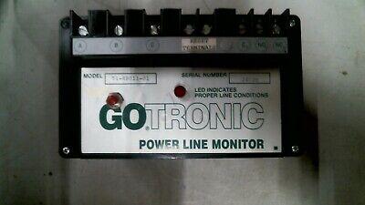 Go Tronic 51-48011-01 Power Line Monitor 480vac 3ph -free Shipping