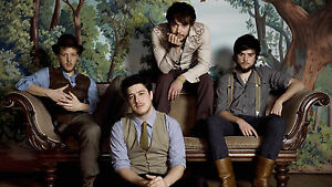 MUMFORD AND SONS A4 POSTER PRINT 260GSM