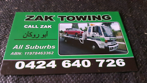 Towing truck and tilt tray services