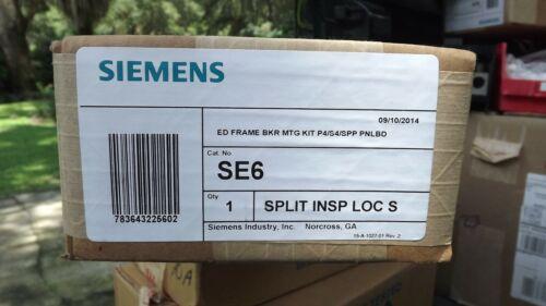 *NEW* Siemens SE6 Circuit Breaker Mounting Hardware P4/S4/SPP Panelboards