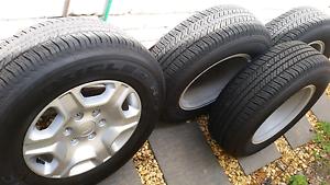 """Ford Ranger x4 XLT 2016 Wheels 17"""" Bridgestone Tyres Leichhardt Leichhardt Area Preview"""