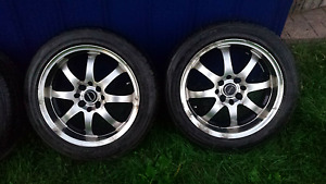 205/50R16 summer tires and rims