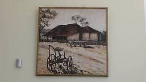 OIL ON CANVAS 1983 Rasmussen Mindarie Wanneroo Area Preview