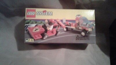 Lego 1253 Shell Promo Ferrari with Transporter Set NIB FS