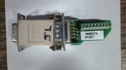 Parker 9773521 01 adapter w/ radio shack gender changer - 60 day warranty