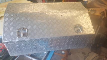 Ally checker plate tool box