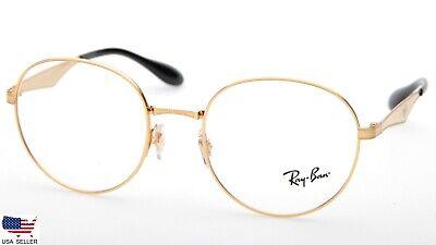 Ray Ban RB6343 2860 GOLD EYEGLASSES GLASSES RB 6343 50-19-145mm (DISPLAY (Ray Ban Display)