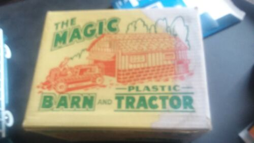 Marx magic barn and tractor with box