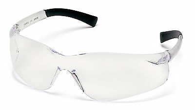 6 Pair Pyramex Ztek Clear Lens Safety Glasses
