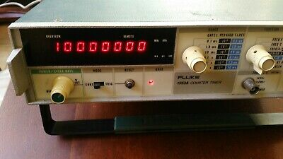 Fluke Counter Timer Model 1953a W Option C And Temp Controled 10mhz Timebase
