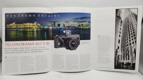 Vintage Linhof Technorama 617 SIII 6x17cm Panoramic Camera Advertising Brochure