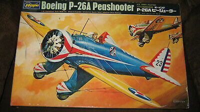 Used, Hasegawa 1/32 Boeing P-26A Peashooter -  US Army Fighter of the 1930's - NIOB for sale  Clinton Township