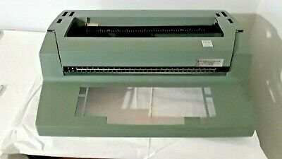 Ibm Selectric Ii Parts Top Cover Only Green N291kp3