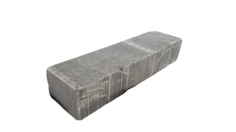 EDM Graphite Block 1.25x1.75x6 Machining High Temp Mold Molten Metal Mold Glass