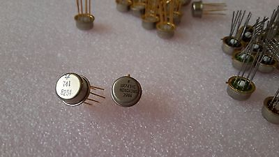 1x Ua741hc 1x 1oy 741 Sgs License Bg Made Au Plated High-performanse Op Amp
