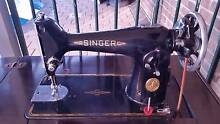 Singer Treadle 201K Sewing machine with cabinet, and parts Hillbank Playford Area Preview