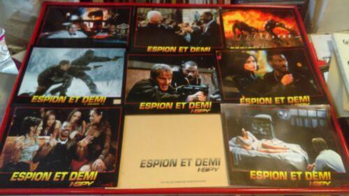 Eddie MURPHY Owen WILSON 8 French Lobby Cards  I-SPY