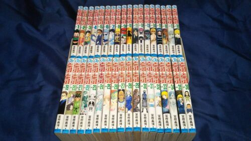 Hunter x Hunter  Vol.1-36  Set Japanese Manga USED