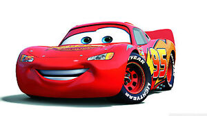 Edible Icing Image - Cars - Lightning McQueen- Birthday Cake Topper Decoration