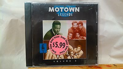 Motown Legends Volume 3 1994 Various Artists From Motown Records      NEW cd2190