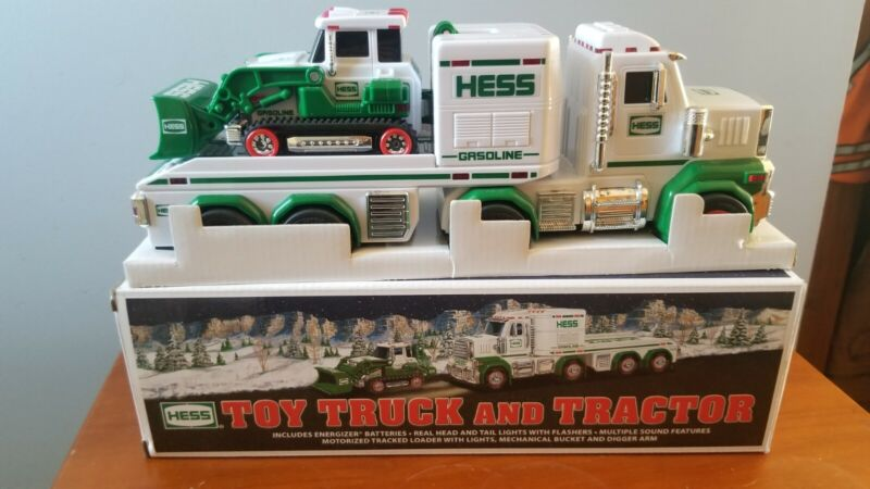 2013 HESS TOY TRUCK And TRACTOR