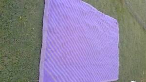 Blanket, purple, woolmix, lightweight, soft and warm. Birkdale