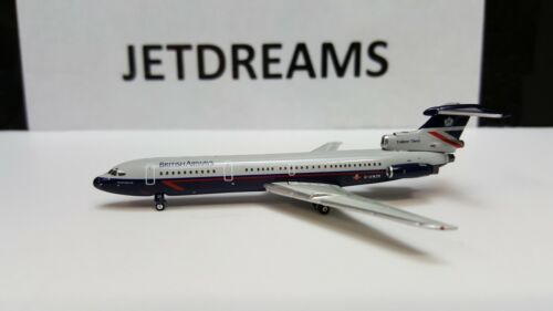 1/400 BRITISH AIRWAYS HS 121 TRIDENT 3B LANDOR PRESERVATION G-AWZK GEMINI JETS