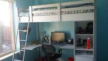 Bunk Bed with desk and cupboards underneath Hillcrest Port Adelaide Area Preview