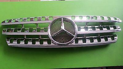 Kühlergrill Gitter Chrom Mercedes ML W163 1997 A 2005 Aussehen W164 mit Stern