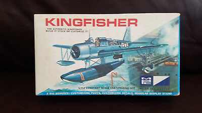 MPC Kingfisher WWII Airplane air craft model kit US Navy observation 7001-70