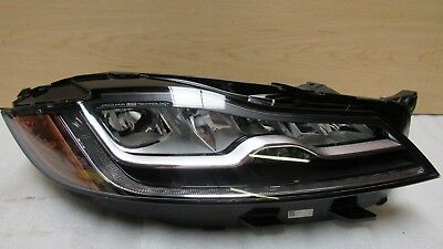 2016-2018 JAGUAR XF F PACE RIGHT PASSENGER HEADLIGHT FULL LED OEM GENUINE 8953