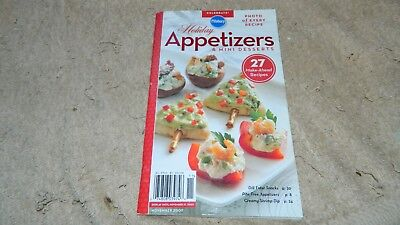 PILLSBURY HOLIDAY APPETIZERS & MINI DESSERTS COOKBOOK 2007 FREE US - Mini Appetizers