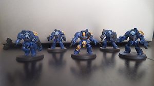 Warhammer 40k space marines assault terminators Nowra Nowra-Bomaderry Preview