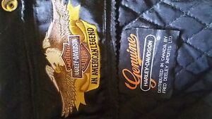 HARLEY-DAVIDSON LEATHER SIZE 54 TALL