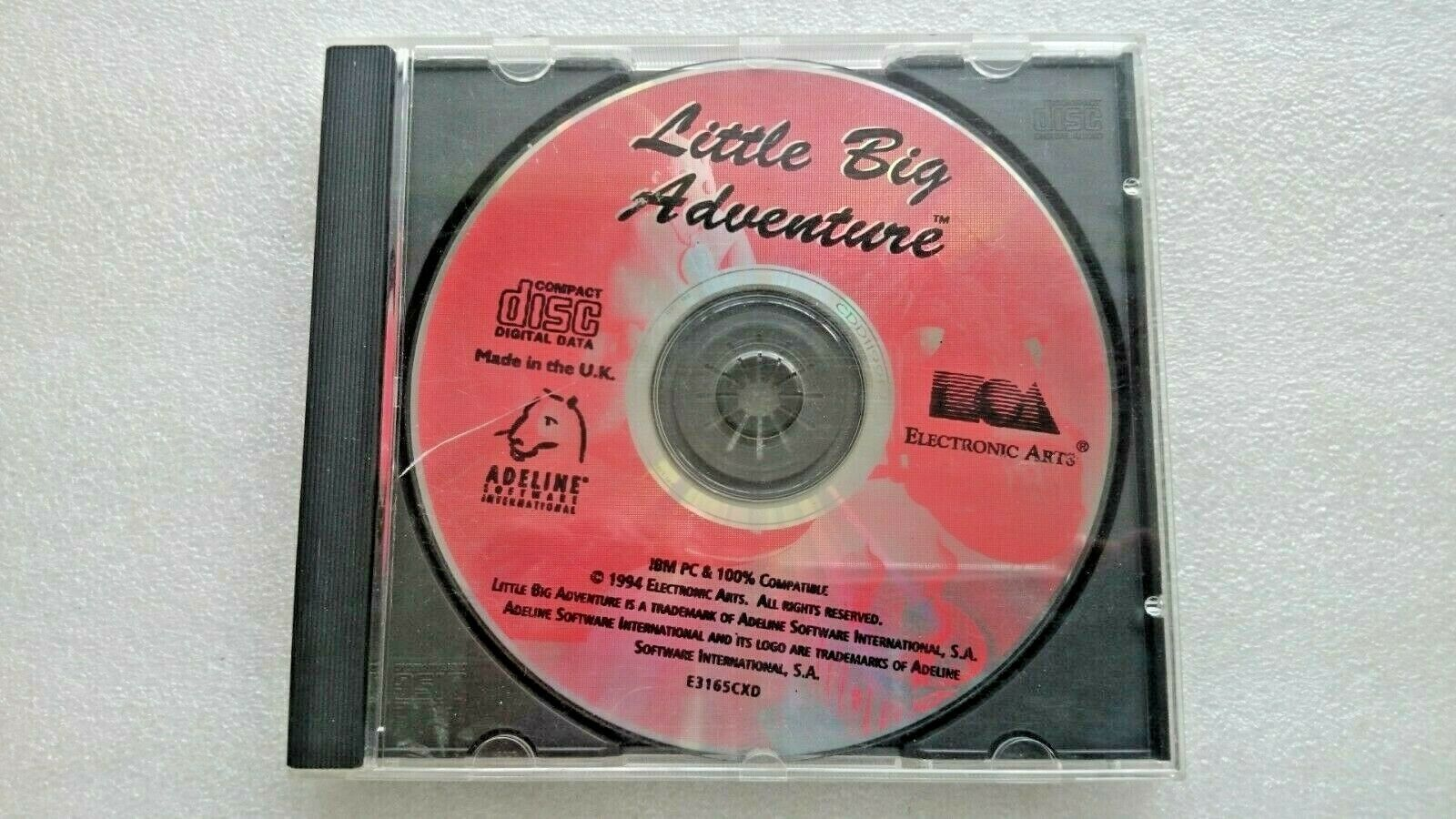 Little Big Adventure (PC Windows 1994) - Disc Only