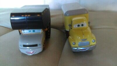 Disney Pixar Cars Lot of 2 Rare Elvis RV & Dustin Mellows