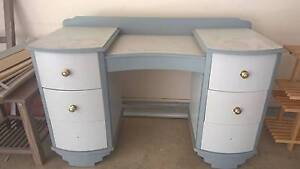 Cool looking Back to School Desk! or Cute Dresser RETRO but cool Greenacres Port Adelaide Area Preview