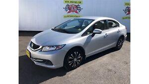 2015 Honda Civic Sedan LX, Automatic, Bluetooth, 76, 000km