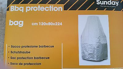 MCZ Grillabdeckung 120cm x 80 cm Höhe : 224 cm gemauerter Grill Sunday Grill