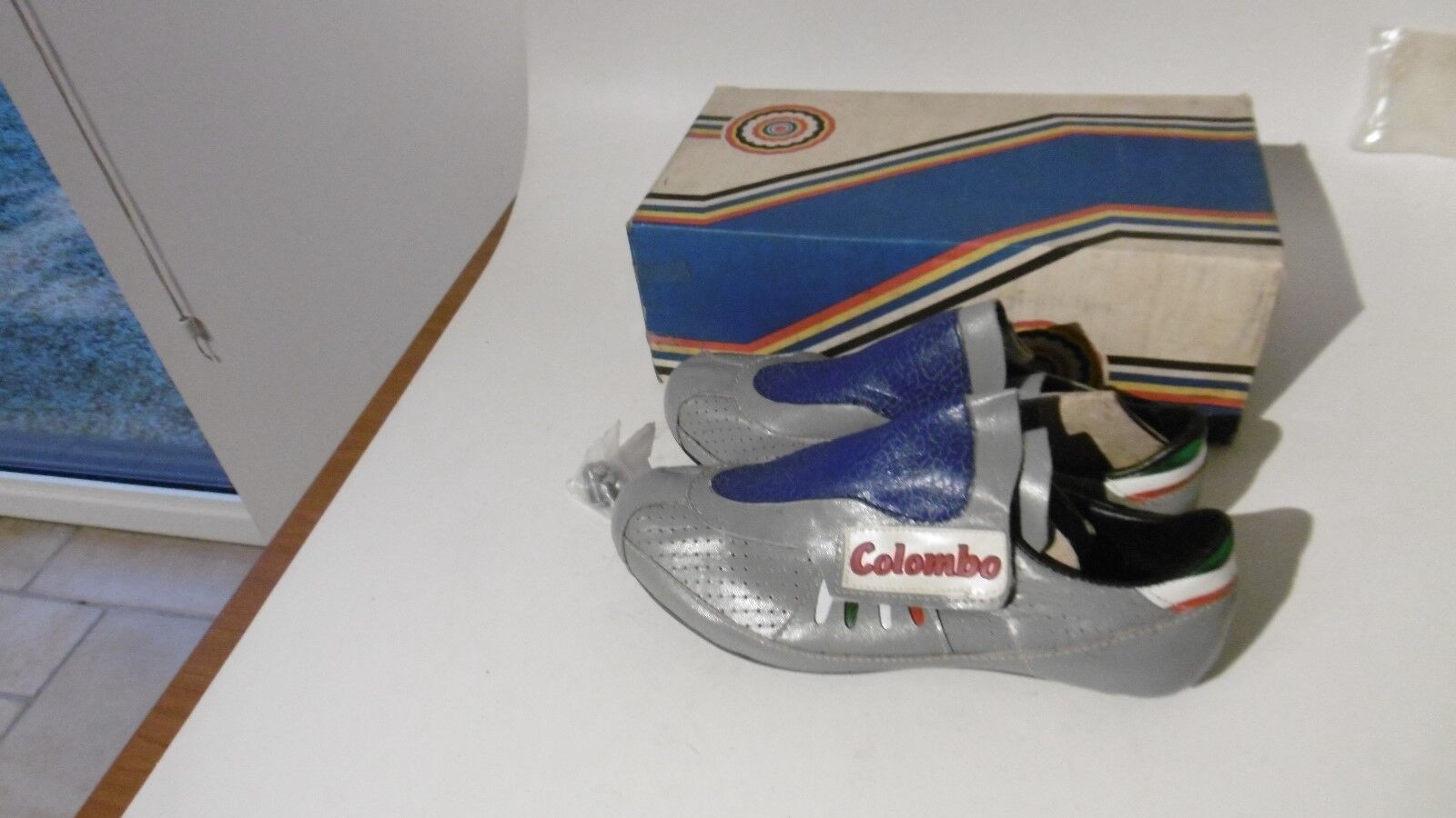 Colombo Cycling Shoes Size 39 NOS