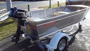 BROOKER 340V TINNY PACKAGE - SILVER STAR BOATS Fyshwick South Canberra Preview