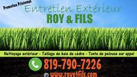 Entretien Extérieur Roy et Fils (Sur Demande)