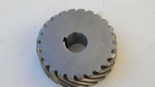 Helical Gear,  8 pitch,   24 teeth,   Left helix   H0824L       FREE SHIPPING