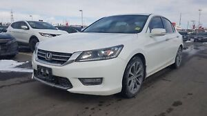 2014 Honda Accord Sport | Heated Seats, Power Amenities, Rearvie