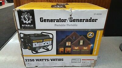 Steele Products Gg-300 3250-watt 4-cycle Gas Powered Portable Outdoor Generator