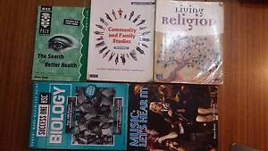 HSC TEXTBOOKS & STUDY GUIDES FOR SALE Epping Ryde Area Preview