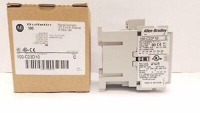 Allen-bradley Iec 100-c23d10 Contactor 23 Amp 120vac Coil New In Box